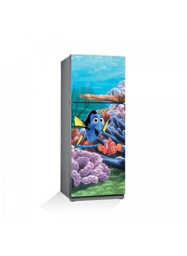 Disney Kayıp Balık Nemo-1 Buzdolabı Sticker Renkli
